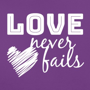 Love Never Fails - T-shirt Femme