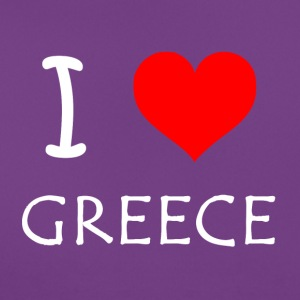 I Love Greece - T-shirt Femme