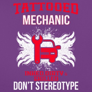 tatoverede MECHANIC - Dame-T-shirt