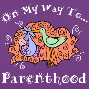 Pregnant On My Way To Parenthood - Women's T-Shirt
