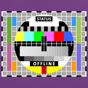 Test image display screen test card offline Big Bang - Women's T-Shirt