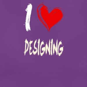 I love design - Women's T-Shirt