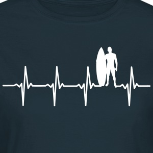 Surfare - Heartbeat scen - T-shirt dam