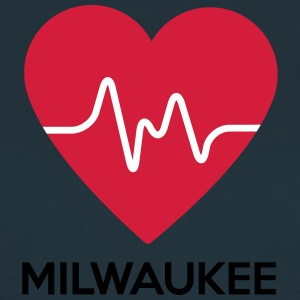 heart Milwaukee - Women's T-Shirt
