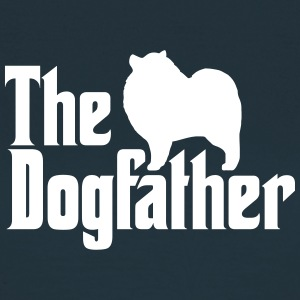 Keeshond Dogfather - T-skjorte for kvinner