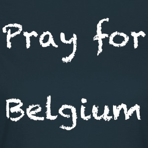Pray for Belgium - T-shirt Femme