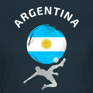 Argentinien Fußball Flagge cool Fun ball Tor Sport - Frauen T-Shirt