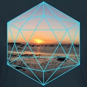 Geometric Sunset - Frauen T-Shirt