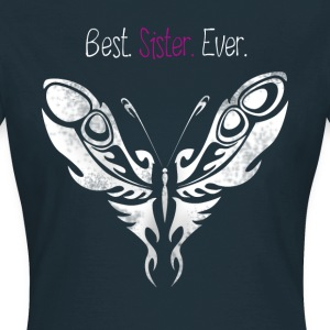 butterfly_sister best Butterfly Big Sister - Women's T-Shirt