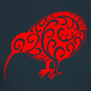 New Zealand: Kiwi in red - Women's T-Shirt