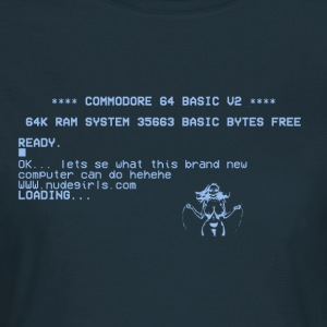 C64 Goes NUDE - T-shirt Femme