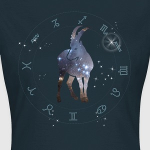 capricorn universe constellation astrology sternzeic - Women's T-Shirt