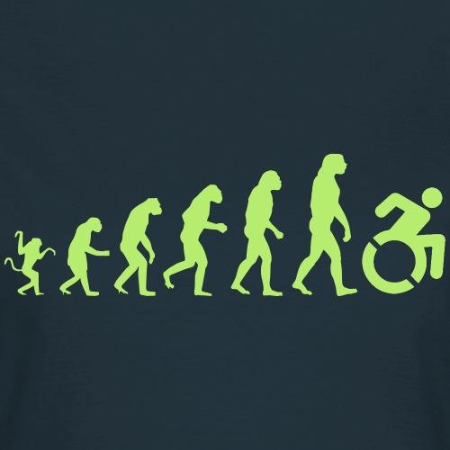 > Rolstoel evolutie - Vrouwen T-shirt