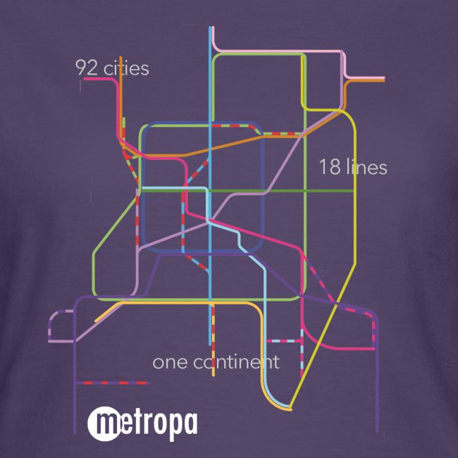 metropa abstract black