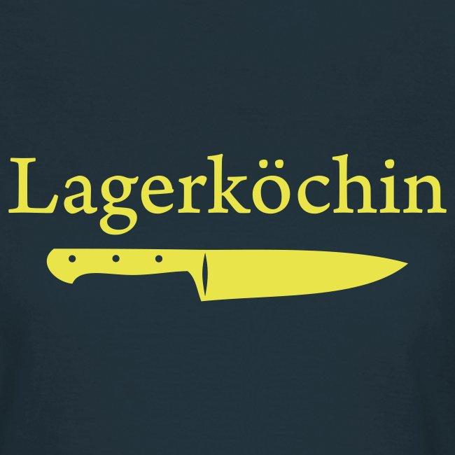 Lagerköchin Messer
