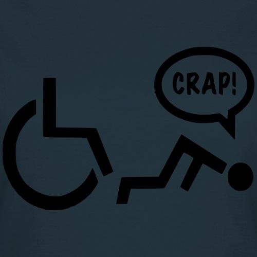 Gevallen rolstoel gebruiker pech 003 - Vrouwen T-shirt