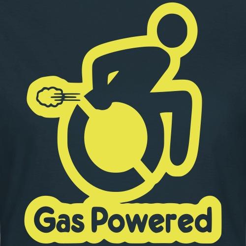 Gas aangedreven rolstoel gebruiker 001 - Vrouwen T-shirt
