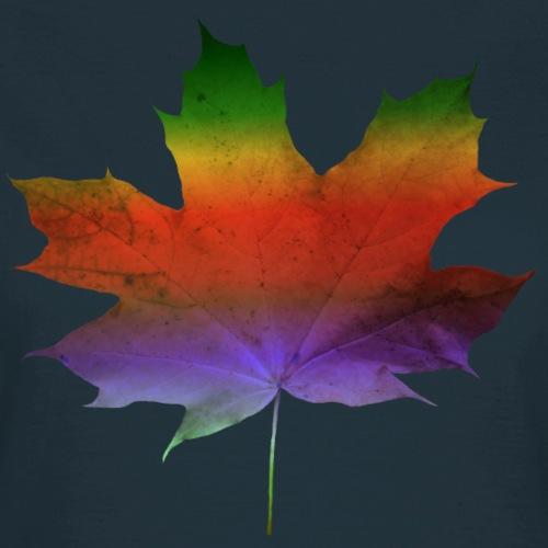 tolles buntes Ahornblatt, Laub, Herbst, Regenbogen - Frauen T-Shirt