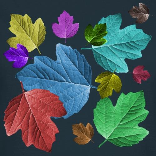 zauberhafte bunte Blätter, Laub, Herbst,Jahreszeit - Frauen T-Shirt