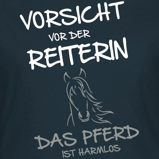 Vorschau: Vorsicht vor der Reiterin - Frauen T-Shirt