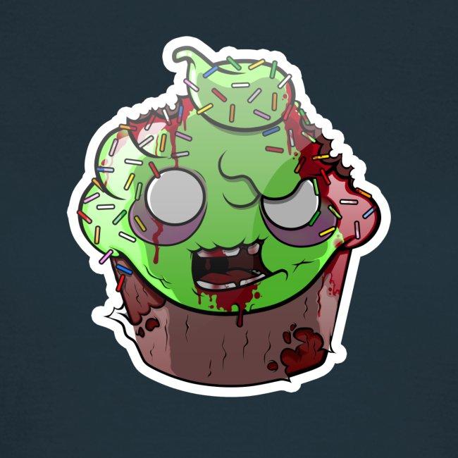 Cupake zombie couleur