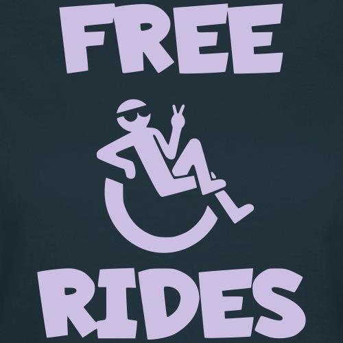 > Ik geef gratis ritjes met mijn rolstoel - Vrouwen T-shirt