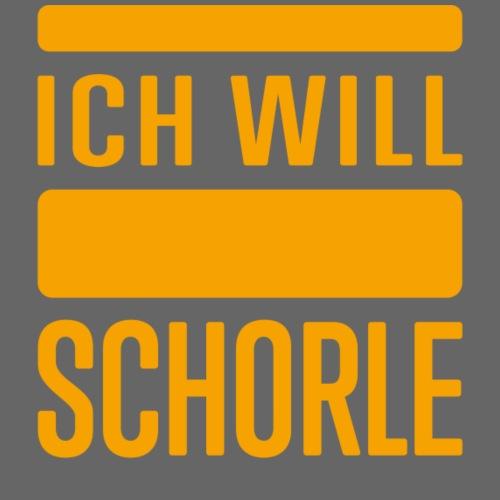 Ich will Schorle - Frauen T-Shirt