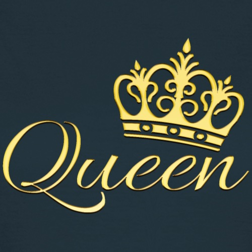 Queen Or -by- T-shirt chic et choc - T-shirt Femme
