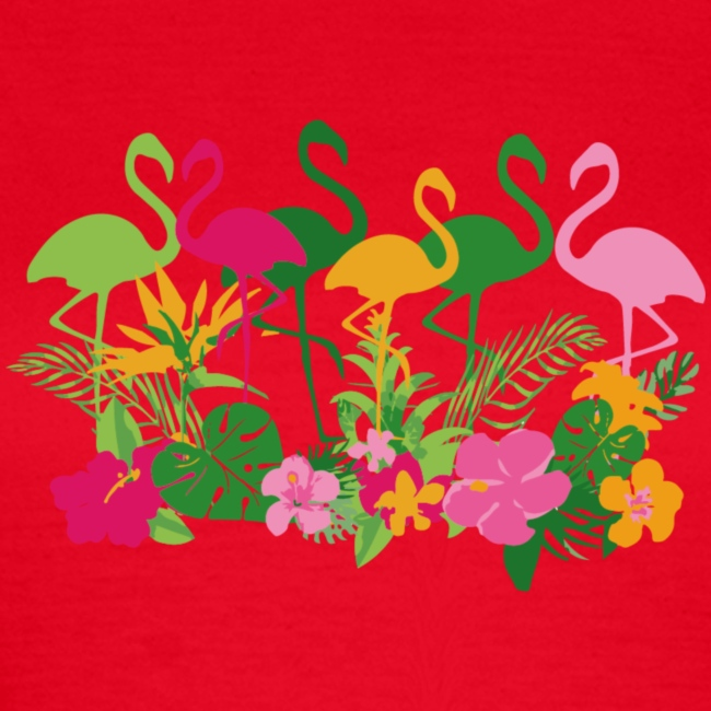 AL JUNGEL & Flamingos