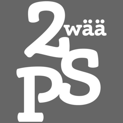 ZwaeaePS Logo weiß - Frauen T-Shirt
