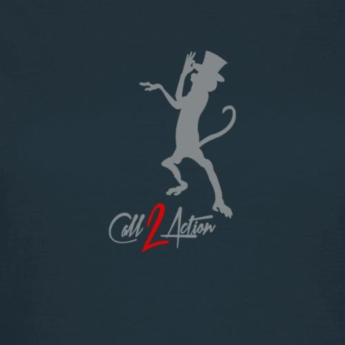 Call 2 Action | grau | Zylinder - Frauen T-Shirt