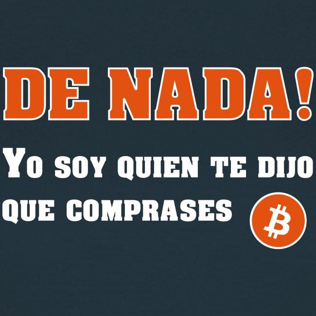 Bitcoin gracias a mí