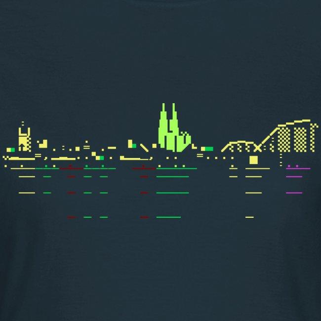 KÖLSCII (PETSCII-Köln-Panorama)