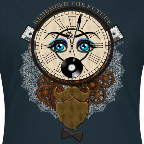 Remember the future : souviens-toi du futur - Or - T-shirt Femme