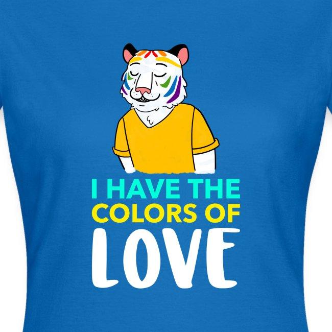 Tigre Arcoíris   Orgullo Pride LGTBI