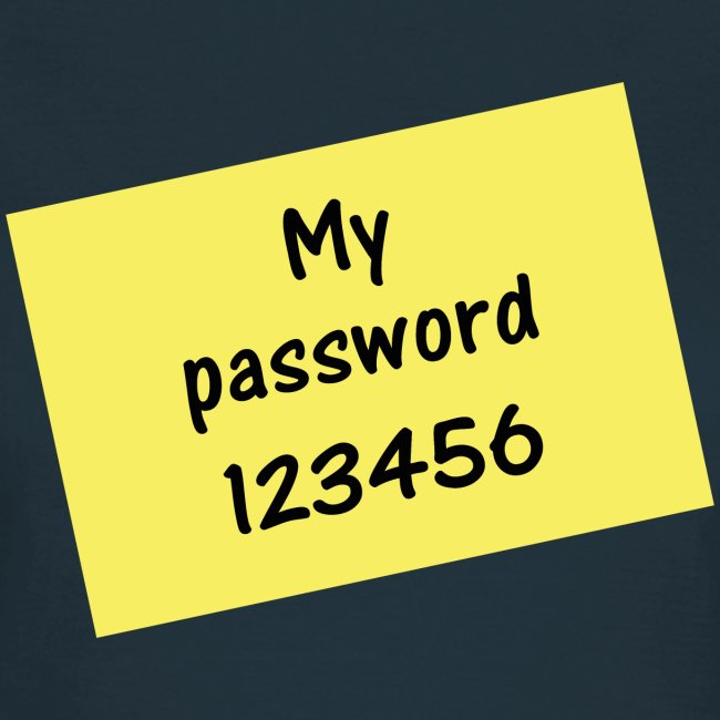 My Password 123456 - Meist verwendetest Passwort