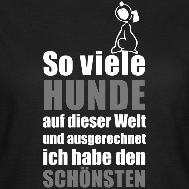 Vorschau: Der schönste HUND - Frauen T-Shirt