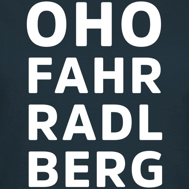 Oho Fahrradlberg
