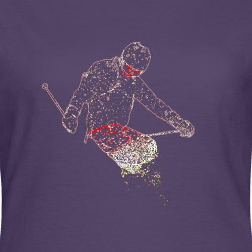 Skier - Vrouwen T-shirt