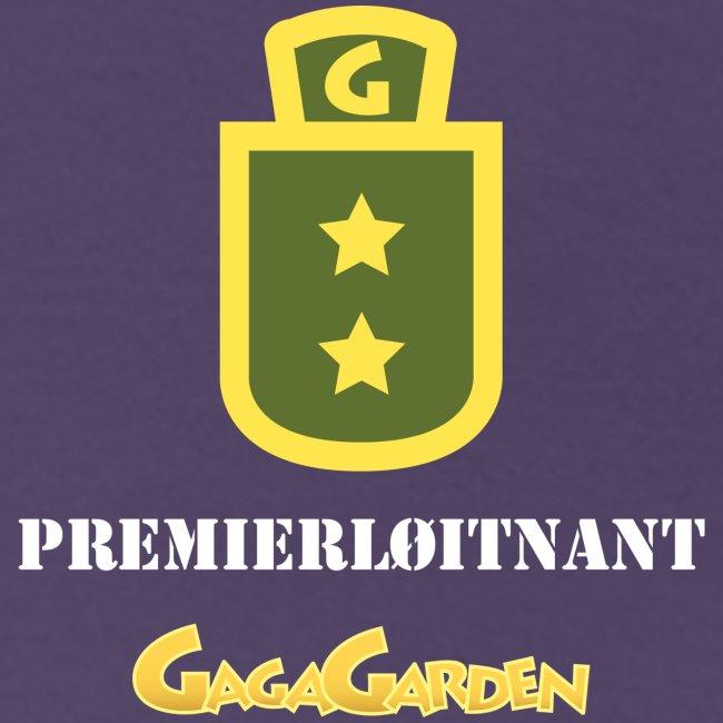 GagaGarden premierløitnant