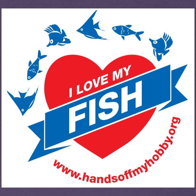 I love my fish