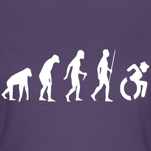 Rolstoel evolutie voor rollers - Vrouwen T-shirt