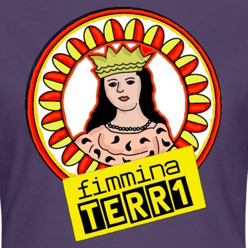 fimmina - Maglietta da donna
