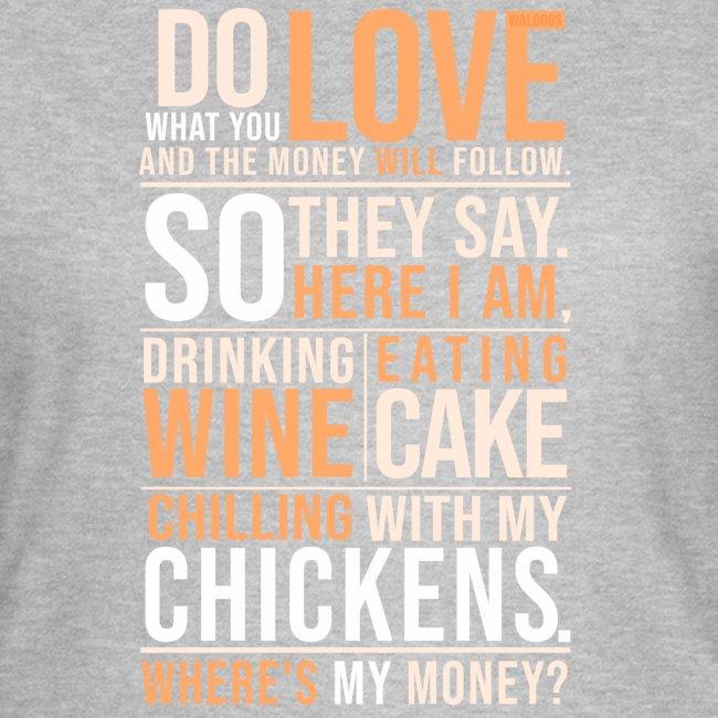 Wine,Cake,Chickens - III