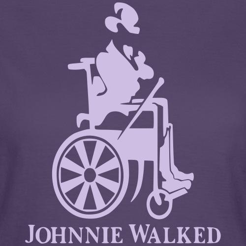 Voor rolstoel gebruikers die van Whisky houden - Vrouwen T-shirt