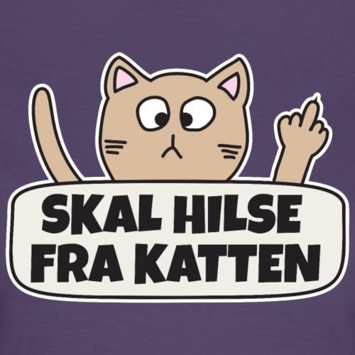 Skal hilse fra katten