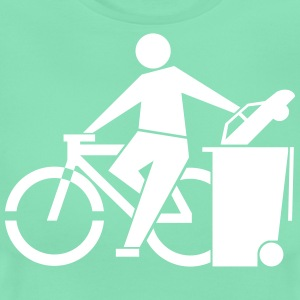 bike no car - Women's T-Shirt