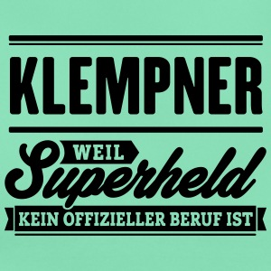Superheld Klempner - Frauen T-Shirt