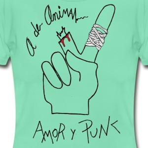 Love and Punk - Frauen T-Shirt