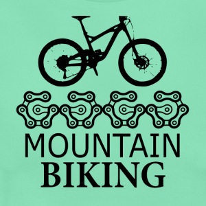Mountain Biking Gears - Liebe zum Mountain Biken - Frauen T-Shirt